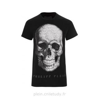 Philipp Plein T-shirt tête de mort (Philipp Plein T Shirt Men)